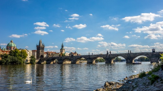 Charles Bridge across 1