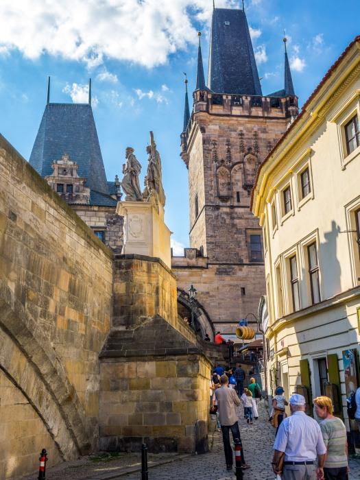 Charles Bridge across 5