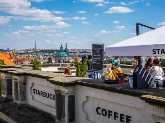 Prague Castle Starbucks
