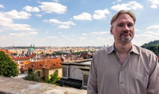 Prague Castle Steve