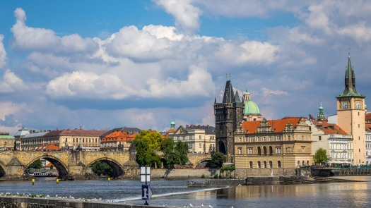 Prague Charles Bridge 1