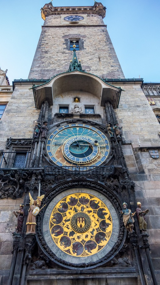 Prague Old Town Center clock tower