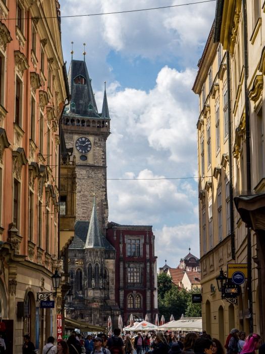 Prague to Clock Tower